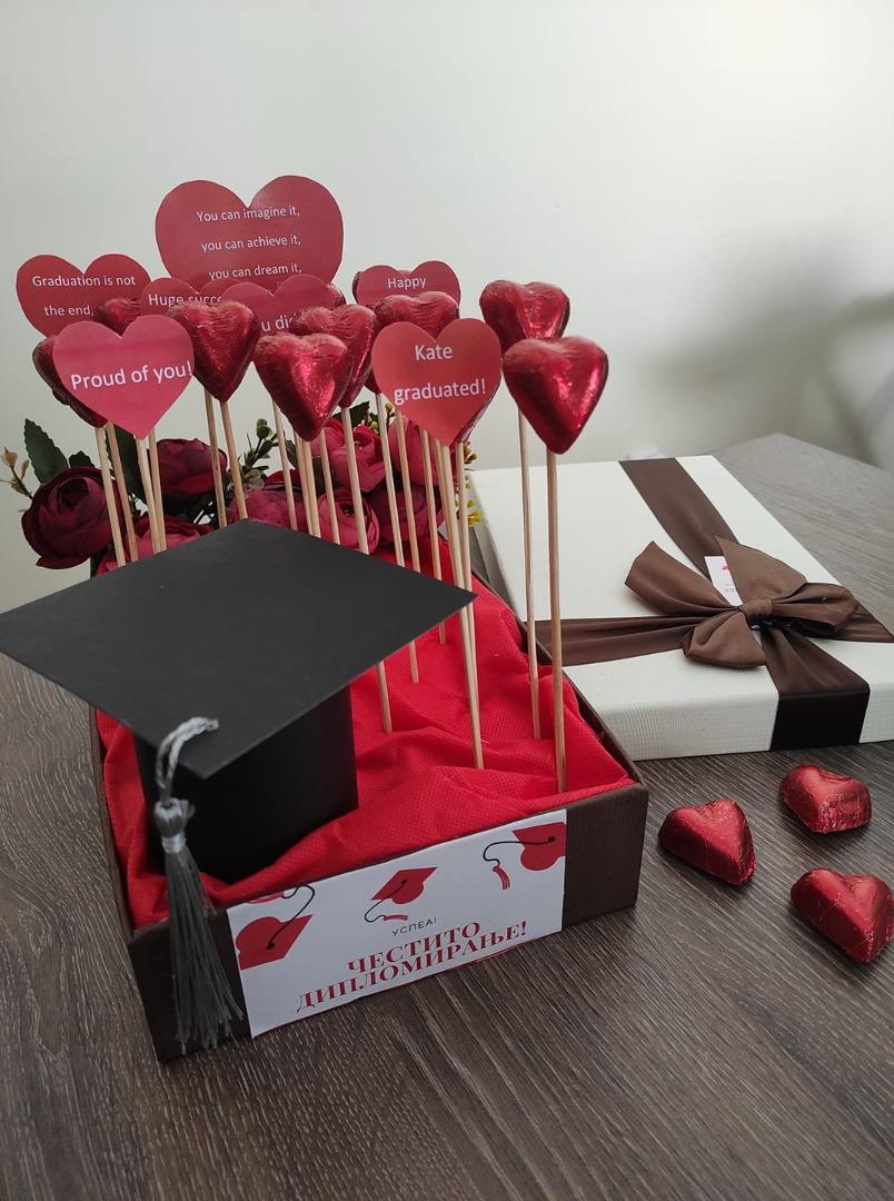 Поклон со пораки за дипломирање
