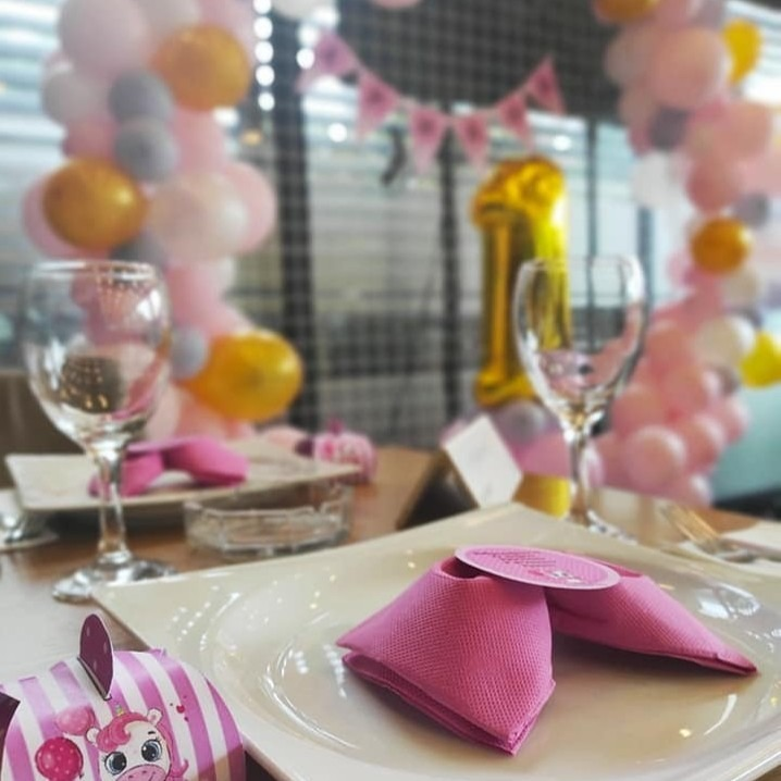 Украсување на простор за роденден и крштевка