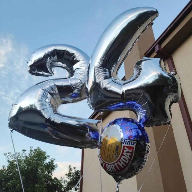 Балони на хелиум бројки 24