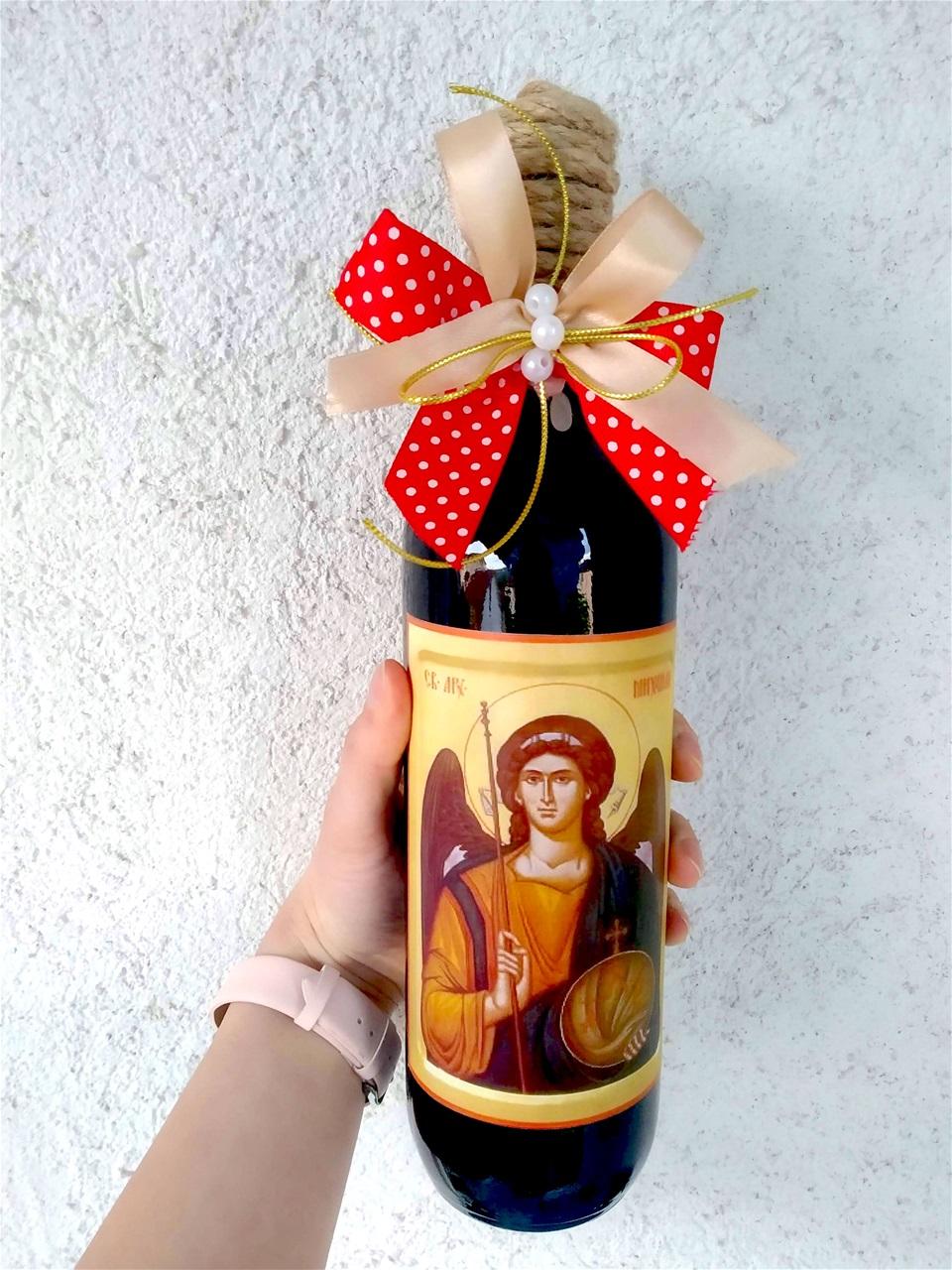Персонализирано вино за слава